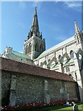 SU8504 : Chichester Cathedral - Eastern Cloister by Rob Farrow