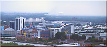 SJ8196 : Old Trafford and Salford Quays by David Dixon