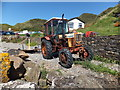 SC2177 : Belarus tractor and trailer by Richard Hoare