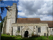 TR0149 : The church of St Cosmas and St Damian, Challock by Marathon