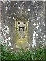 SD1878 : Hodbarrow Nature Reserve, Trig pillar, Flush bracket by Alexander P Kapp
