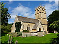 SO9537 : St. Faith's church, Overbury by Jonathan Billinger