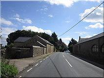 SE2094 : Craggs Lane at Craggs Lane Farm by Ian S