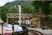 SH6441 : Tan-y-Bwlch Railway Station by Peter Trimming
