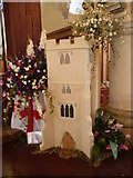 TR0149 : Flower festival at the church of St Cosmas and St Damian, Challock by Marathon