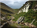 NY7620 : Swindale Beck and Crag by Karl and Ali