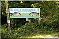 SW5534 : Coarse fishery entrance by Elizabeth Scott