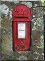 NU1714 : Edwardian Post Box near Abbeylands by Graham Robson