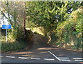 SO7124 : Unsuitable lane for HGVs near Newent by Jaggery