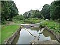 SK3872 : Temporary culverted bridge across the canal by Christine Johnstone