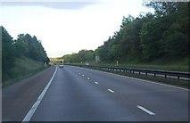 SJ8106 : M54 west of Shakerley Lane Bridge by N Chadwick