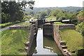 SK8435 : Woolsthorpe Middle  Lock 17, on Grantham Canal by J.Hannan-Briggs