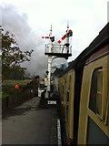 SE8191 : Signals at Levisham by Andrew Abbott