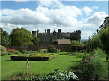 SO4465 : Croft Castle from the walled garden by Dave Spicer