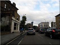 TQ3084 : York Way at the junction of Brewery Road by David Howard