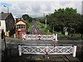 SD7916 : Level crossing on Bridge Street by Stephen Craven