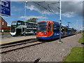 SK4381 : Halfway tram terminus by Graham Hogg
