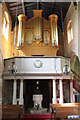 SK8029 : Organ in St Guthlac's, Branston by J.Hannan-Briggs