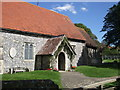TV5597 : St Simon & St Jude Church, East Dean by Paul Gillett