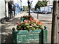 SJ9494 : Old planters on Clarendon Place by Gerald England