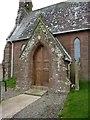 SD0799 : St Peter's Church, Drigg, Porch by Alexander P Kapp