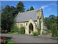 NU1912 : Northern Chapel in Alnwick Cemetery by Graham Robson