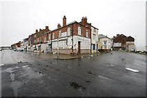 TA2711 : Wharncliffe Road/Fish Dock Road, Grimsby by Dave Hitchborne