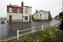 TA2711 : Fish Dock Road/Henderson Street, Grimsby by Dave Hitchborne