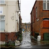 TA2711 : Brown Street, Grimsby by Dave Hitchborne