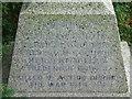 TM1861 : War Memorial Tablet by Keith Evans