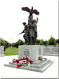 SK1814 : Memorial for Polish sacrifice by Andrew Abbott