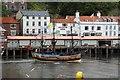 NZ8911 : The Bark Endeavour passes the Fish Market by Steve Daniels