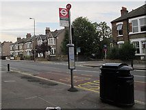 TQ4077 : Where has our bus shelter gone? by Stephen Craven