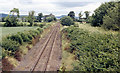 NH5546 : Site of Clunes station, 1986 by Ben Brooksbank