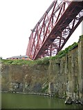 NT1380 : Forth Bridge from the Deep Sea World, North Queensferry by Elliott Simpson