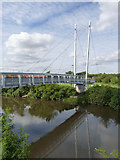 SK7954 : Jubilee Bridge by Alan Murray-Rust