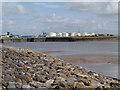 ST1972 : Severn Estuary, Cardiff Flats by David Dixon
