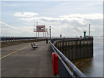 ST1972 : Cardiff Bay Breakwater by David Dixon