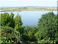 TQ7276 : View over Cliffe Pools Nature Reserve by Marathon
