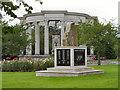 ST1877 : War Memorials, Alexandra Park by David Dixon