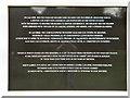 ST1877 : Falkands War Memorial (dedication) by David Dixon