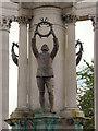 ST1877 : Airman, Welsh National War Memorial by David Dixon