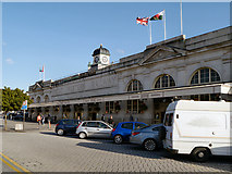 ST1875 : Cardiff Central Station by David Dixon