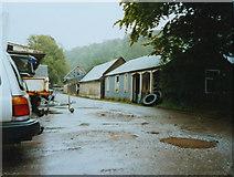 NM7047 : Estate Yard, Achranich by Peter Bond