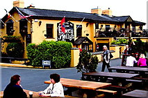 R4560 : Bunratty - Durty Nelly's Pub - Distant View to Northeast by Suzanne Mischyshyn