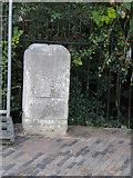 TL4557 : Hills Road milestone by Jo Edkins