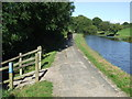 SD4969 : Canal towpath, Carnforth by Malc McDonald