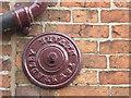 SK7953 : Wall tie, T & W BRADLEY NEWARK  by Alan Murray-Rust