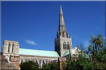SU8504 : Chichester Cathedral by Len Williams