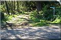 SP9535 : Path to Birchmoor farm by Philip Jeffrey